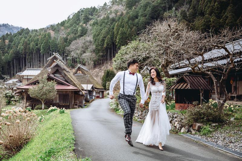 OHHIYAO早安攝影; 日本京都櫻花婚紗; 日本美山婚紗; 朱飾戴吉; 海外自助婚紗