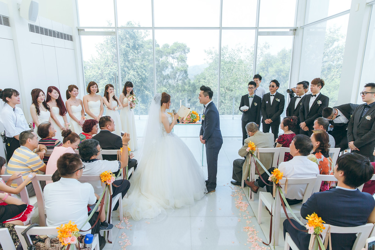 OHHIYAO; 心之芳庭婚宴; 心之芳庭婚禮; 戶外婚禮; 朱飾戴吉